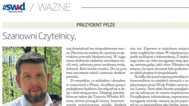 """Raport radnego - Wodzisławska """"gazeta władzy""""*"""